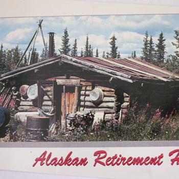 Alaskan Retirement Home - Postcards