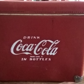 my coca cola cooler