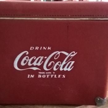 my coca cola cooler  - Coca-Cola