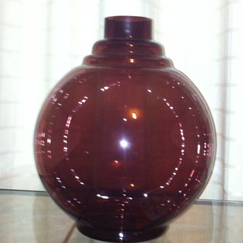Jaap Gidding vase for Leerdam (+/- 1928) - Art Glass