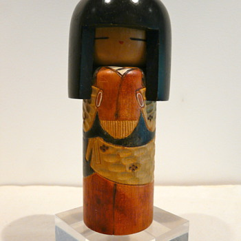 "KOKESHI DOLL - ""SHINGATA"" or  ""SOSAKU""?"