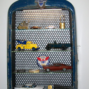 1931 Chevrolet grill display case #3