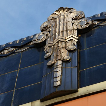 Beautiful Tile Work and Architecture in Oakland, California - Art Deco