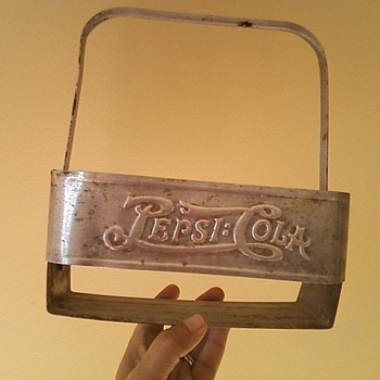 Pepsi Cola bottle carrier 1930's?
