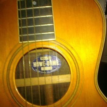 Howe-orme guitar