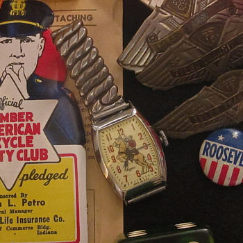 Roy Rogers watch 1950s,,,, I think, KERRY? - Wristwatches