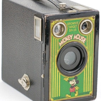 No.2A Mickey Mouse Target camera