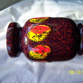 Fratelli Fanciullacci Vase , Artist ? signed G.T.C. - Pottery