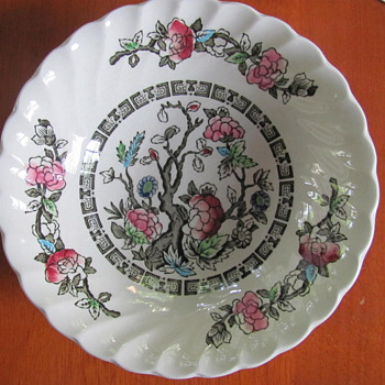 Myott Indian Tree (Fine Staffordshire Ware) Bowls. - China and Dinnerware
