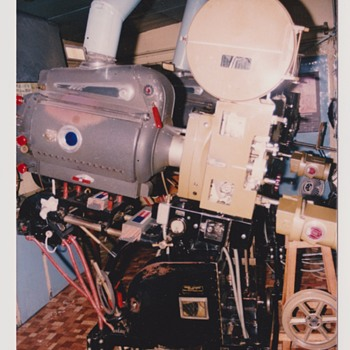 Collectible film projectors.