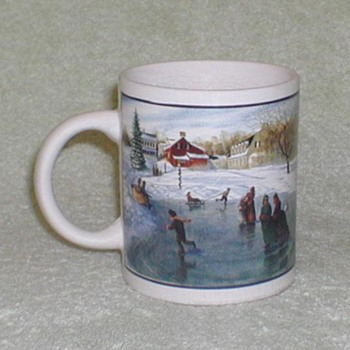 Coffee Mug - Winter Scene