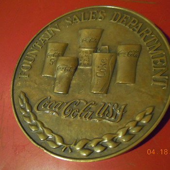 1981 Fountain Wholesaler Gallonage Award 