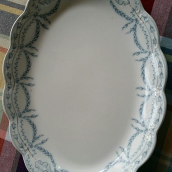 mom's platter - China and Dinnerware
