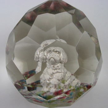 BOHEMIAN 19th CENTURY SULPHIDE - Art Glass