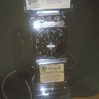 early american payphone (need some information of anyone can help??)  - Telephones