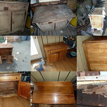 "An old ""Commode"" ?? I fixed up - Furniture"
