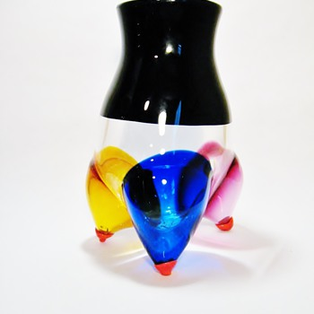ERIK HOGLUND FOR STROMBERGSHYTTAN/ DATES 1988 - Art Glass