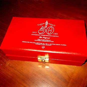 1965 Commemorative Root Bottle In Box