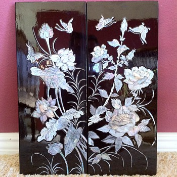 2nd set of Black Lacquer MOP panels - Asian