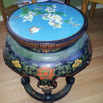 Oriental inlay table?? - Asian