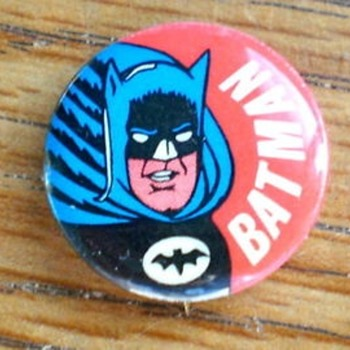 Gumball Cape Crusader - Medals Pins and Badges