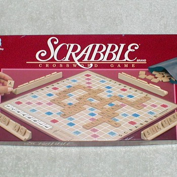 1989 - SCRABBLE Boardgame