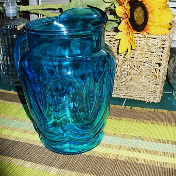 Blue Pitcher - Glassware