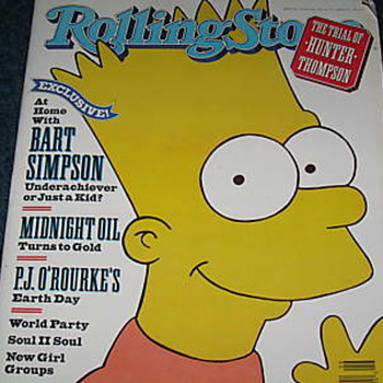 The Simpsons in print