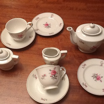 Emma's first tea set