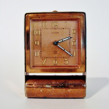 "LE COULTRE - SWISS  ""ALARM CLOCK"""