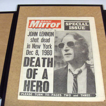 London Daily Mirror-Dec.10, 1980... - Music