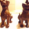 Foo Dogs  Chinese,  Bronze