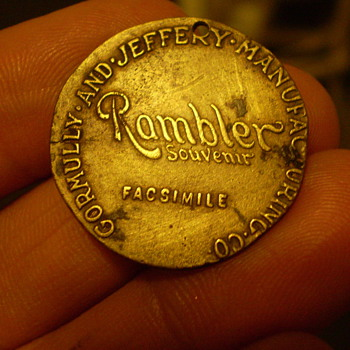 rambler bicycle medallion - Sporting Goods