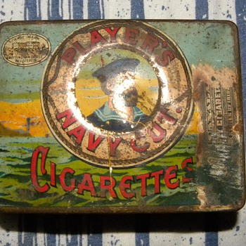Player's Navy Cut Tin and other Tobacco Tins - Advertising