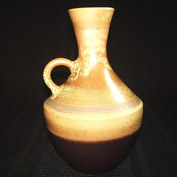 "Italian Pottery Pitcher or Liquor""Date ????"" - Art Pottery"
