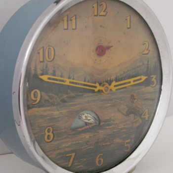 Smith Alarm, Fisherman - Clocks
