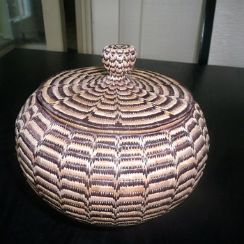 low country/native american basket