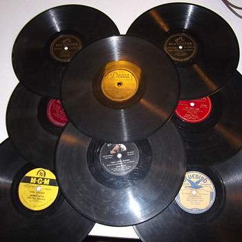 Vintage 78 Rpm records