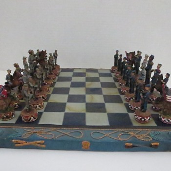 Civil War Chess Set - Games