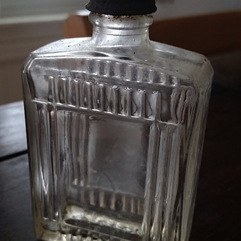 Vintage Fitch's bottle - Bottles