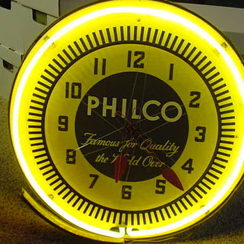 Philco needs parts - Clocks