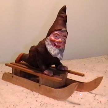 1920's-1930's German Elf Candy Container - Christmas
