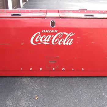 Westinghouse WD-22  Coca-Cola cooler - Coca-Cola
