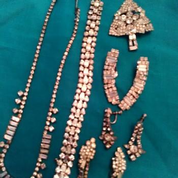 Weiss jewlery - Costume Jewelry
