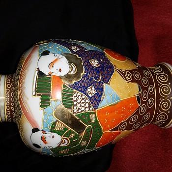 Japanese Satsuma Vase? - Asian