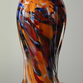 Another vase from Fukuoka (Multi) Glass