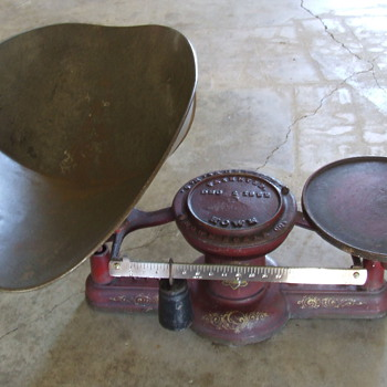 HOWE c1882 Hardware Store Scale - Tools and Hardware