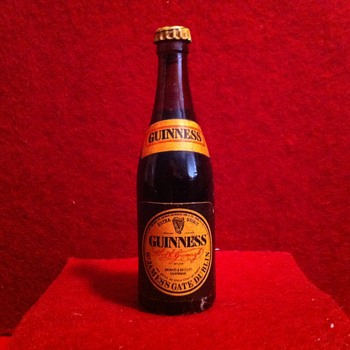 Smallest bottle of Guiness - Breweriana