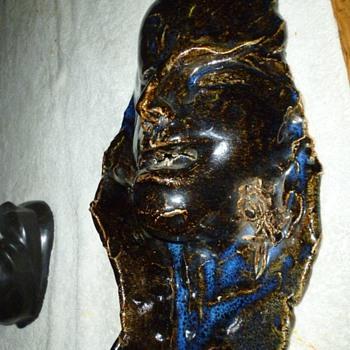ceramic face - Pottery