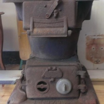 Looking for a part for this great Estate Coal Caboose Stove - Railroadiana
